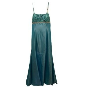 Sequence evening gown